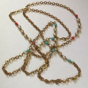 Vintage Long Layering Necklace